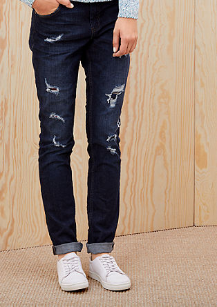 Shape Slim: Destroyed jeans from s.Oliver