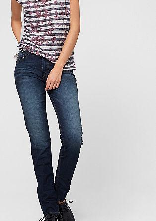 Shape Slim: Dunkle Stretch-Jeans