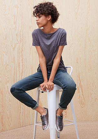 Shape Slim: Jeans hlače z raztrganinami