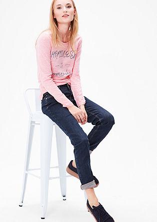 Shape Slim: Jeans met vintage knopen