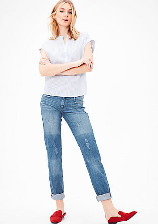 Shape Slim: non-stretch jeans from s.Oliver