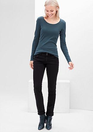 Shape Slim: obarvane raztegljive jeans hlače