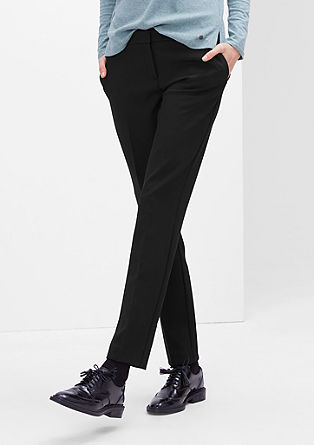 Shape Slim: stretch business trousers from s.Oliver