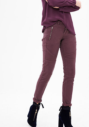 Shape Super Skinny: Biker trousers from s.Oliver