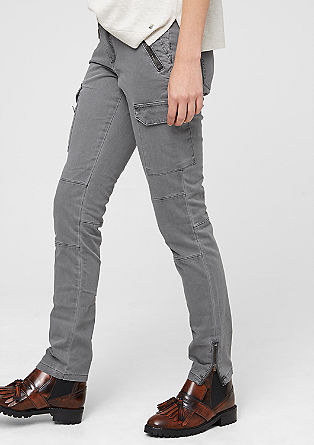 Shape Super Skinny: Cargo trousers from s.Oliver