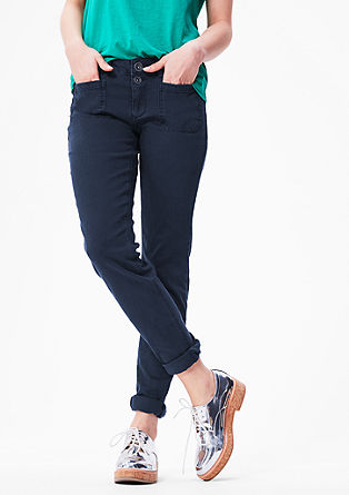 Shape Super Skinny: Coloured denim jeans from s.Oliver