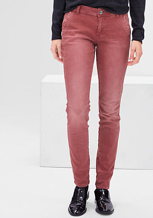 Shape Super Skinny: garment-dyed jeans from s.Oliver