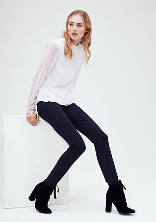 Shape Super Skinny: jersey trousers from s.Oliver