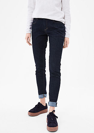 Shape Super Skinny: Raw denim from s.Oliver
