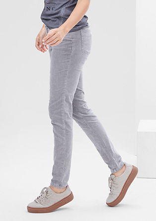 Shape Super Skinny: stretch corduroy trousers from s.Oliver