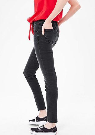 Shape Superskinny: šedé džíny