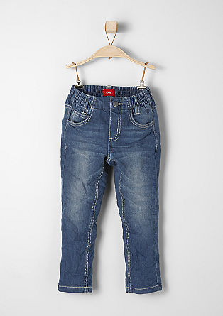 Shawn: raztegljive modre jeans hlače