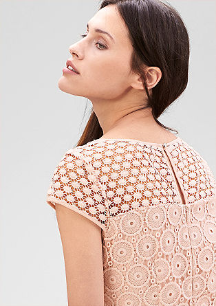 Sheath dress in all-over lace from s.Oliver