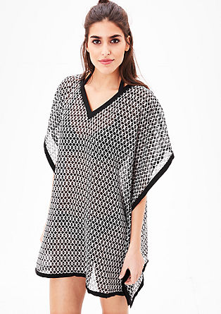 Sheer beach poncho from s.Oliver