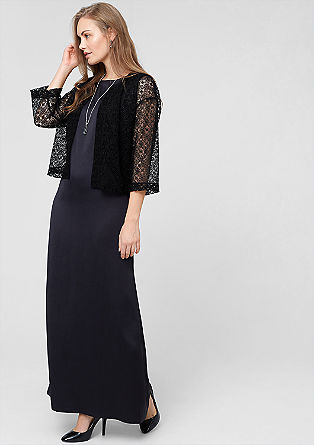 Sheer lace blazer from s.Oliver