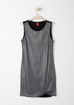 Shift dress in a party look from s.Oliver