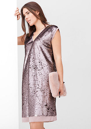 Shimmering sequin dress from s.Oliver