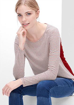 Shirt im Colorblocking-Look