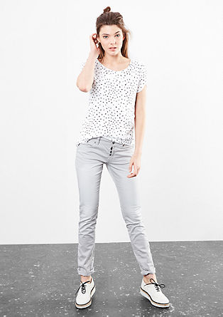 Shirt met all-over print