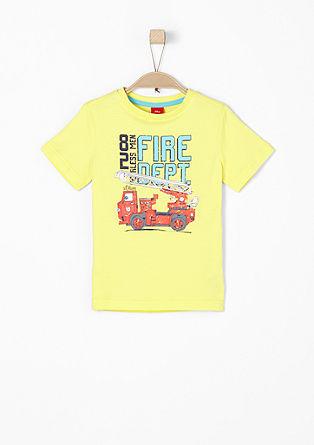 Shirt met brandweermotief