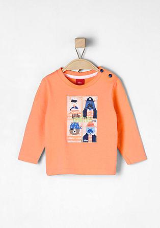 Shirt met grappige dierenprints