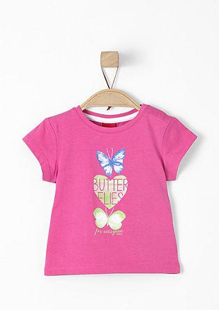 Shirt met vlinderprint