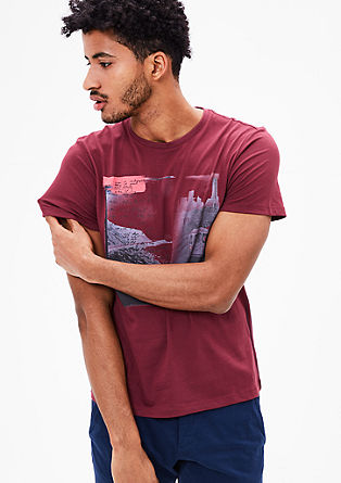Shirt mit City-Print