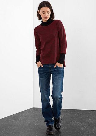 Shirt mit Melange-Effekt