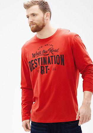 Shirt mit Print im Vintage-Look