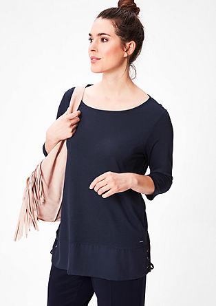 Shirt mit Schnür-Details