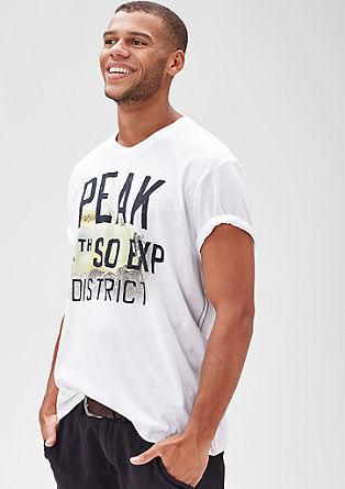 Shirt mit Schriftprint