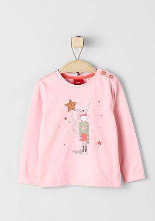 Shirt mit süßem Hasen-Print