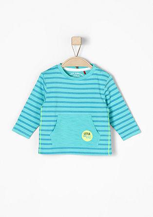 Shirt mit Zick-Zack-Ringeln