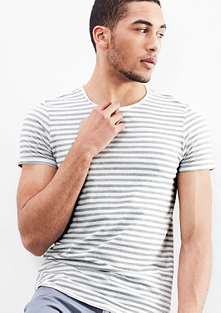 Shirt with striped pattern from s.Oliver