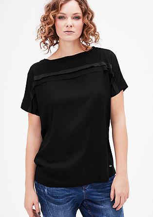 Shirtbluse mit raffinierten Details