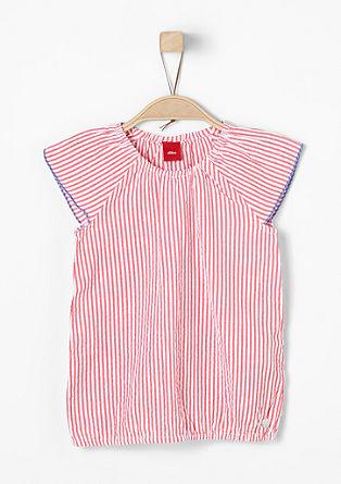 Shirtbluse mit Streifen