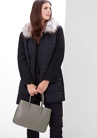 Shopper aus Leder
