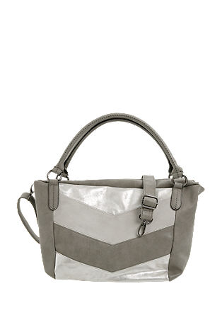 Shopper with a metallic effect from s.Oliver