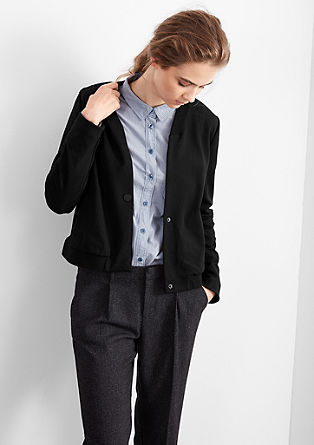 Short blazer in a bomber-jacket style from s.Oliver