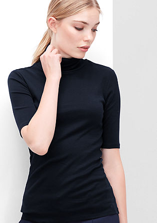 Short sleeve polo neck in a slim fit from s.Oliver