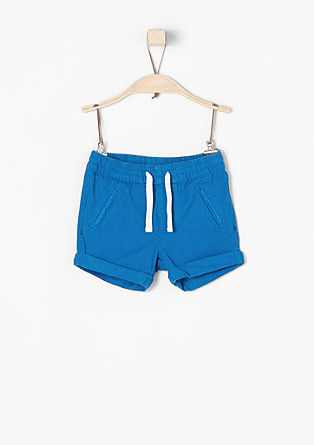 Shorts with a drawstring panel from s.Oliver