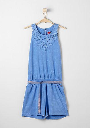 Shortsuit in de kleur lava-dye