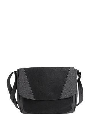 Shoulder Bag im Materialmix