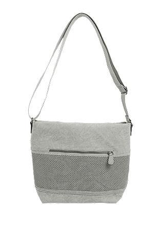 Shoulder Bag mit Gittermuster
