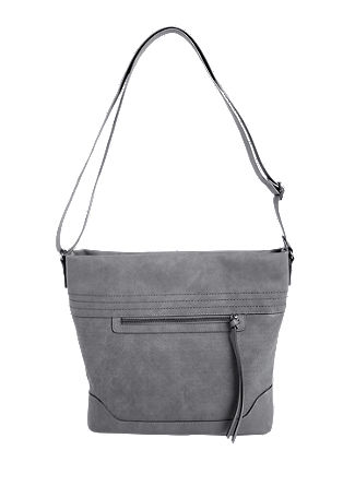 Shoulder Bag mit Musterperforation