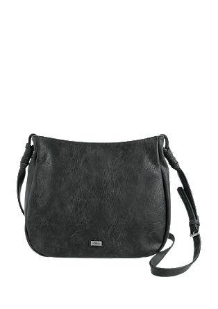 Shoulder Bag mit Perforationsmuster