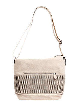 Shoulder bag with a latticework pattern from s.Oliver