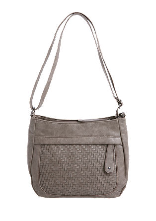 Shoulder bag with a mesh texture from s.Oliver