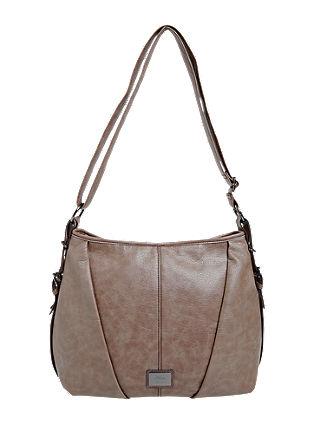 Shoulder bag with decorative darts from s.Oliver