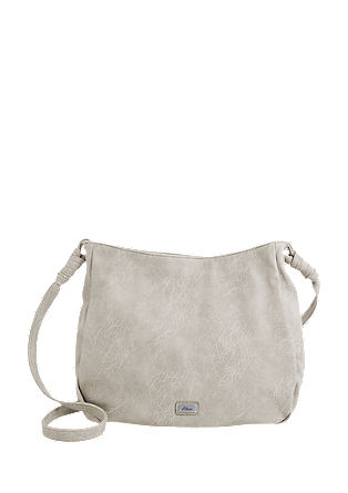 Shoulder bag with perforated pattern from s.Oliver